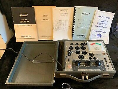 MERCURY Electronics Model 1100 Vintage Vacuum Tube Tester