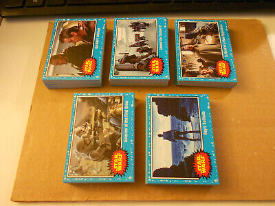 Topps Star Wars Journey To The Last Jedi Complete Blue Border 110 Card Set