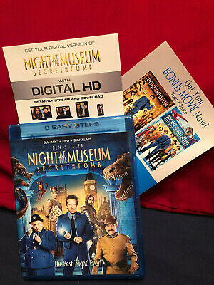 Night at the Museum: Secret of the Tomb DVD/BluRay/Digital Code & ANOTHER Movie