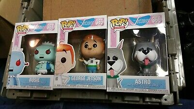 The Jetsons lot #365 # 366 #367 George Jetson astro rosie Funko Pop! Animation
