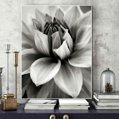 Nordic Abstract Flowering Wall Living Room Art Deco Flower Painting Frameless