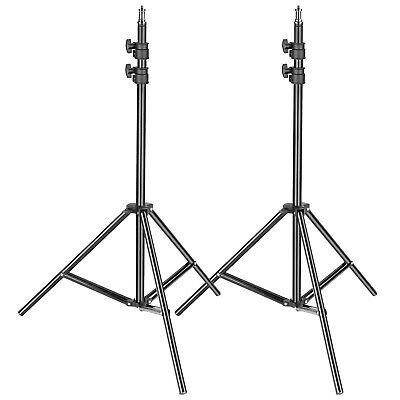 Neewer 2-pack Metal Adjustable 36-79 inches Heavy Duty Support Stand