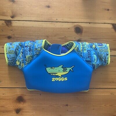 ZOGGS SWIMMING JACKET VEST FLOATY SIZE 1-2 / 11-15 Kgs AS NEW CONDITION