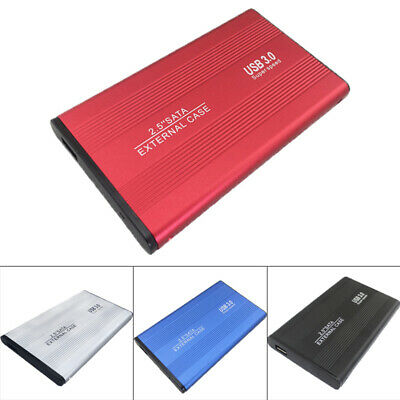 Sata 2.5in Usb 3.0 Hard Drive Mobile Disk External Enclosure Hdd Case Box For Pc