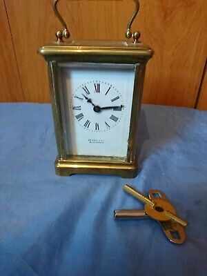 A Fine Antique Carriage Clock By Bennett & Co