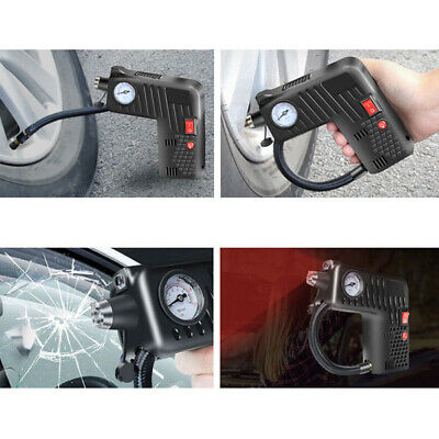 Portable Air Compressor Cordless Electric Auto Car Bike Tire Inflator Pump 12 V