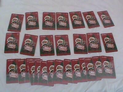 Lot of 30+ Phone Cards Cracker Jack Candy Toys Convention Christmas Promo RARE