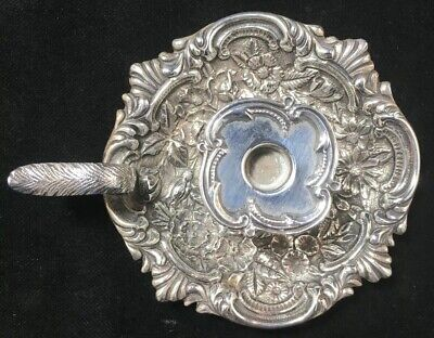S.Kirk & Son Repousse Sterling Silver Chamberstick Rare Form