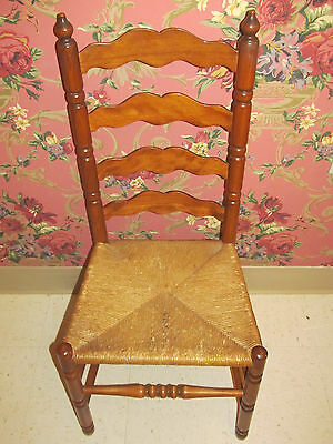 Tell City Ladderback Chair Andover Maple Wood with Caned Fibre Seat Side 2312