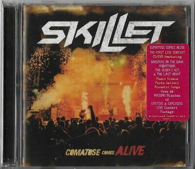 Comatose Comes Alive by Skillet (CD-DVD, 2008) Brand New Sealed!