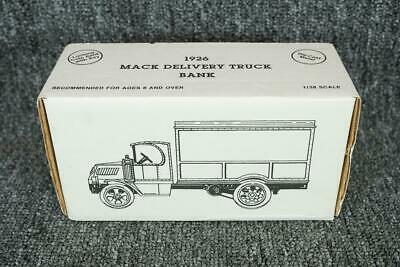 ERTL Metal Replica 1926 Mack Delivery Country Store Truck Coin Bank