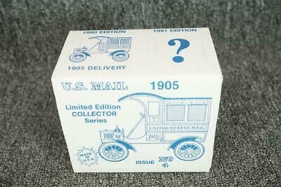 ERTL Metal Replica 1905 U.S. Mail Delivery Car Coin Bank