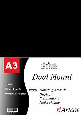 Frisk Dual Mount A3 Black/White Pack of 5