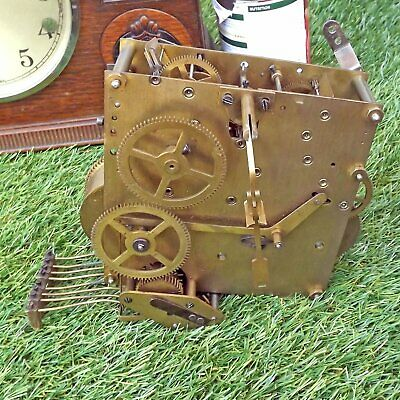 Dual Chime Westminster Whittington - Wurttemberg HAC? Clock - Spares Repair