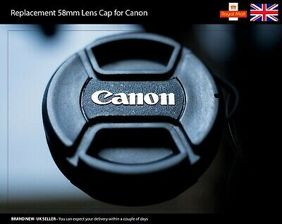 58mm Front Lens Cap for Canon