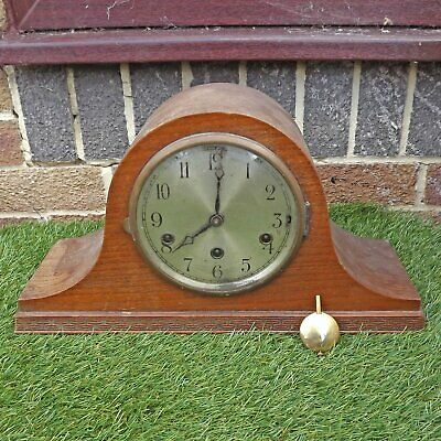 Art Deco Westminster Chime Clock - Napoleon Hat - 8 Day Chimes - Spares / Repair