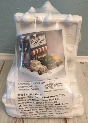 New & Sealed * California Creations Al's Used Cards Creative Crafts #97005 *