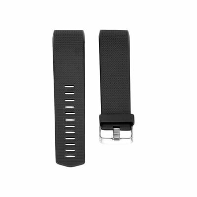 Luxury Silicone Band Strap Buckle For Fitbit Charge 2 Replacement