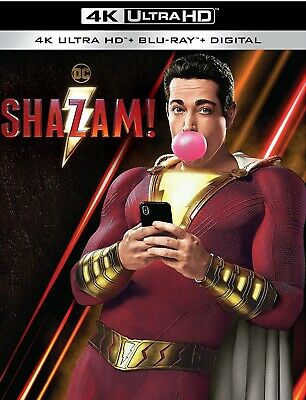 Shazam 4k / Blu Ray / Canada Digital