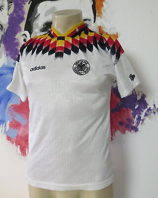 Vintage Germany 1994 1995 1996 home shirt adidas soccer jersey size XS WC '94