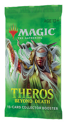 Theros Beyond Death Collector Booster OVP Sealed EN English