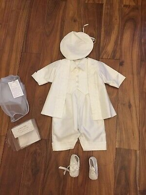 Baby Boy Christening Outfit.Size  3-6 Months
