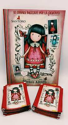 Santoro London GORJUSS 2 rosso album vuoto + 50 bustine figurine da Box Panini