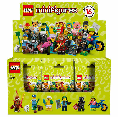 LEGO Series 19 Minifigures Collectible Box Case of 60 Random Minifig Packs 71025