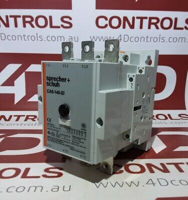 Sprecher + Schuh CA6-140-EI-11-240 3 Phase 140A Contactor with 208-277VAC 50/...