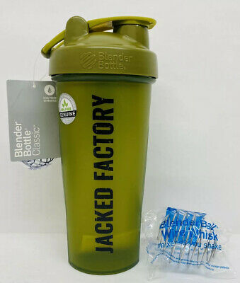 Genuine Blender Bottle Classic Olive Green Shaker Cup Mixer 28oz