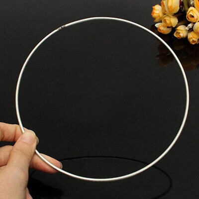 Welded Durable Craft Handmade Decoration Prop To Use Iron Ring Hoop DIY