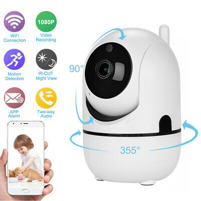 1080P HD Smart Home Wireless Security IP Camera WiFi PTZ Night Baby Monitor CCTV