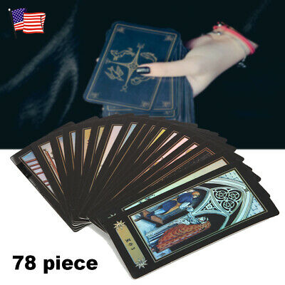 78 Cards Witch Tarot Deck Future Fate Telling Forecasting Cards Table Game Gift