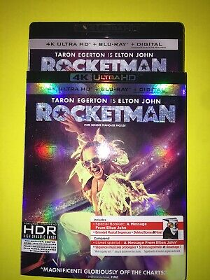 Rocketman (4K Ultra Hd/Bluray)(2 Disc Set)
