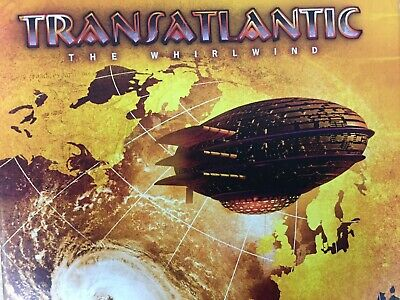 TRANSATLANTIC - The Whirlwind 2 x CD + DVD Box Set 2009 Radiant Excellent Cond!