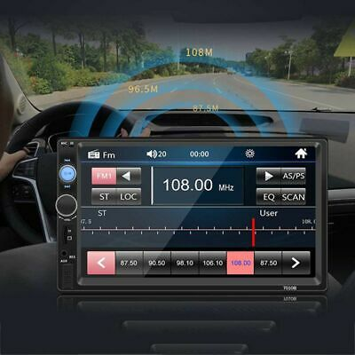 """2DIN 7"""" HD Car Stereo Radio MP5 Player Bluetooth Touch Screen With Rear Camera*"""