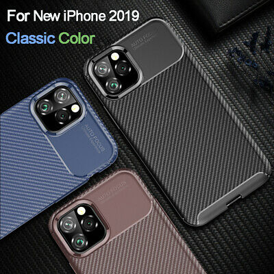 For iPhone 11 Pro Max 2019 XR XS Max Case Shockproof Soft Rubber Bumper Cover