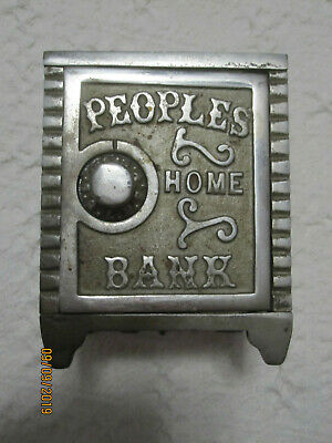 Iron Vintage Bank First Peoples Home Bank Mudd Mfg. Inc. Chicago