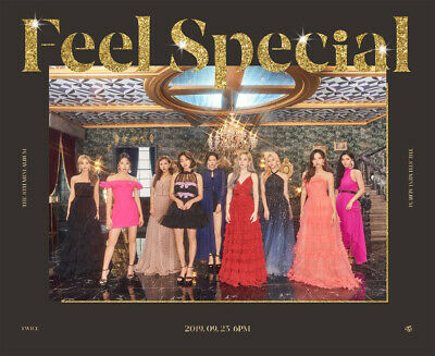 TWICE [FEEL SPECIAL] 8th Mini Album C Ver CD+Photo Book+6p Card SEALED