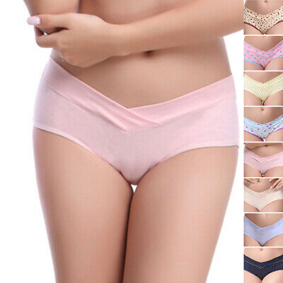 Pregnancy Maternity Panties Comfort Cotton Pregnant Low-waist Briefs Underwear