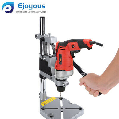 Hand Power Drill Press Bench Stand Workbench Pillar Clamp Drilling Repair Tool