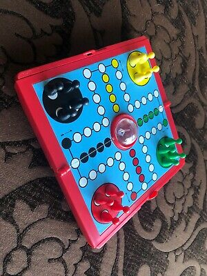 Mini Magnetic Travel Game Ludo. Board Only, No Pieces.