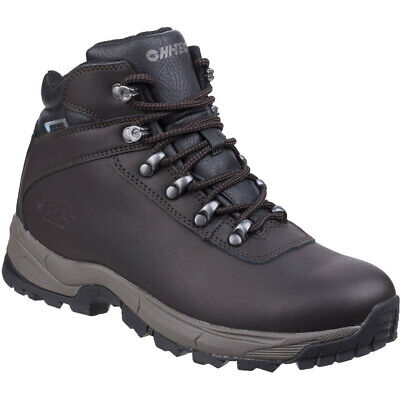 Hi Tec Mens Eurotrek Lite Waterproof Leather Walking Boots