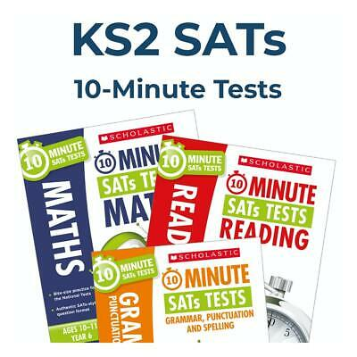 Year 6 10-Min English & Maths Tests | Year 6 SATs Books Revision | Incl Answers