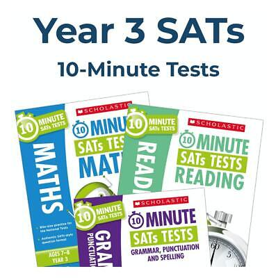 Year 3 10-Min Tests | Maths & English Books | 2020 Spec | Incl Answers