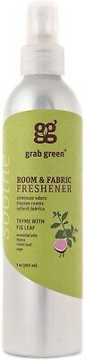 Room and Fabric Freshener, GRAB GREEN, 7 oz 1 pack Thyme with Fig Leaf