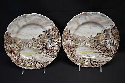 Johnson Brothers Olde English Countryside Pair of Dinner Plates