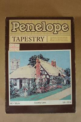 Penelope No.B601 boxed tapestry kit ' Country Lane' 46 x 56cms