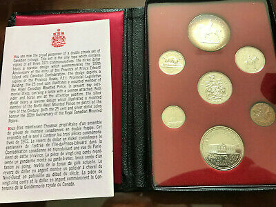 Canada Royal Canadian Mint Proof Coin sets (1973,1976-1978), five sets