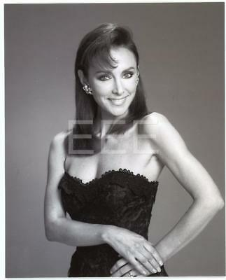 Peggy Fleming by Photographer Harry Langdon with Embossed Stamp Photo 104L